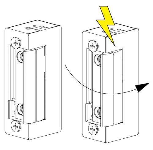 Automatico portero instalar cerradura
